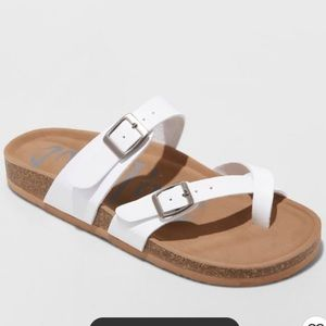 🆕Womens Mad Love Prudence Footbed Sandals